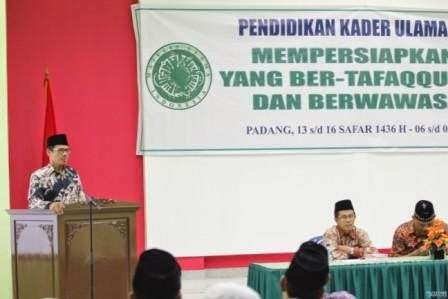 Gubernur Sumbar Buka Pendidikan Kade Ulama MUI Sumatera Barat