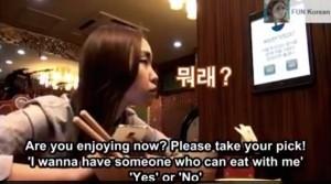 Cara-unik-mendapatkan-teman-makan-di-restoran-korea
