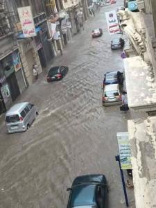 Banjir-di-Alexandria-mesir